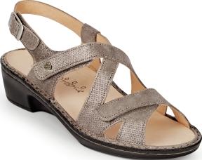 Finn Comfort Womens Salo 2932 Leather Shoes  4 1/2Schwarz
